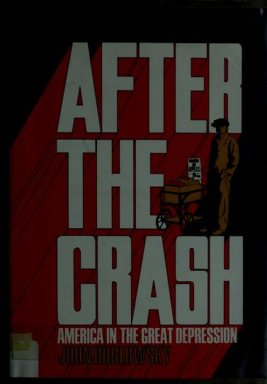 After the crash by John Rublowsky